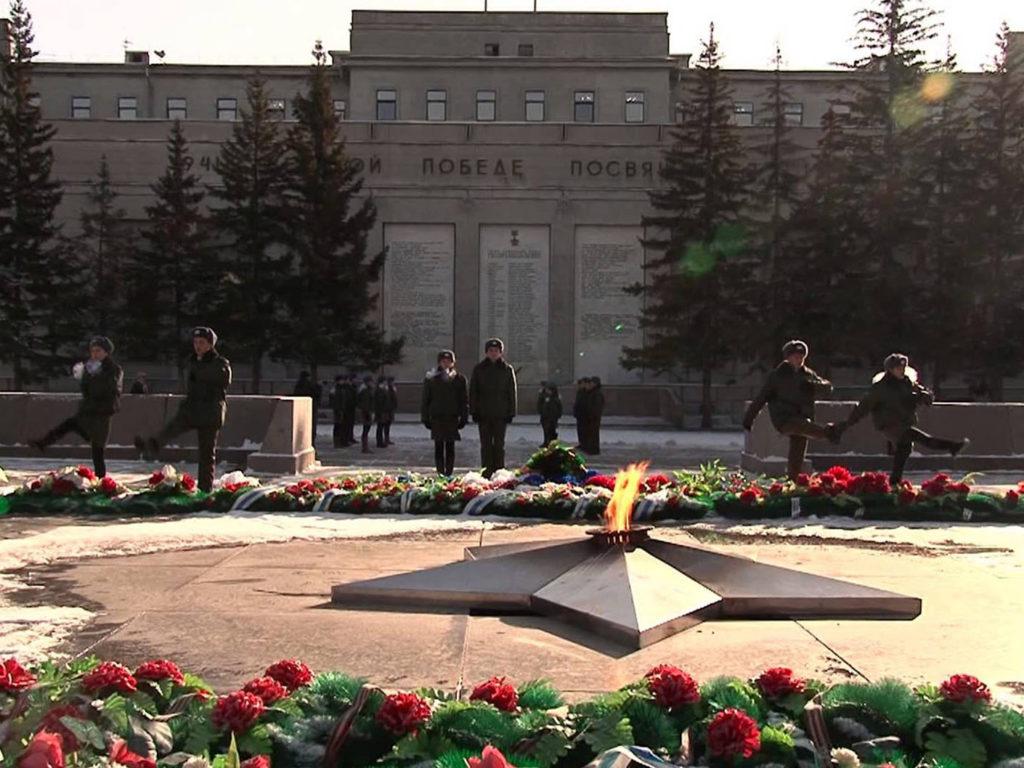 Мероприятия у мемориала «Вечный огонь»