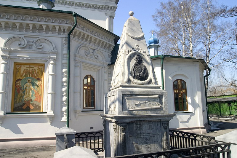 Могила Григория Ивановича Шелихова