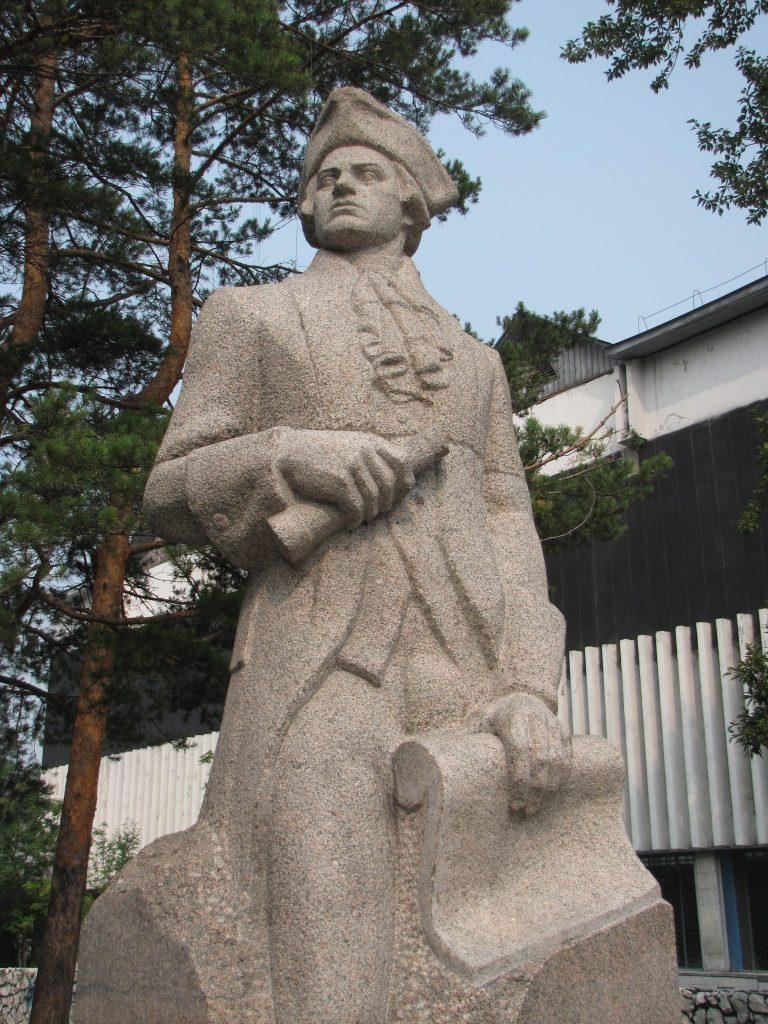 Памятник в городе Шелехове