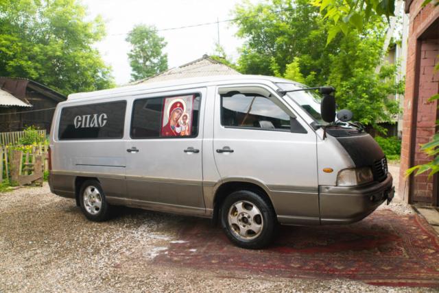 """Похоронный транспорт Ритуальной службы """"СПАС"""""""