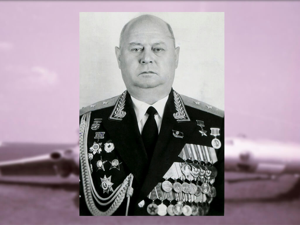 Советский военачальник Безбоков Владимир Михайлович