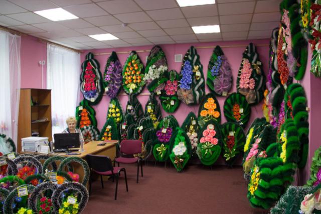 Ритуальные принадлежности, венки в Иркутске