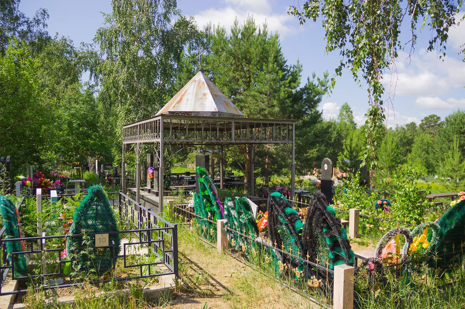 Смоленское кладбище в Иркутске